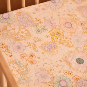 Apple Blossom | Fitted Cot Sheet