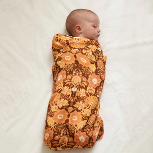 Arabella Paisley | Bamboo + Organic Cotton Swaddle