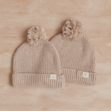 Load image into Gallery viewer, Caramel Fleck | Chunky Knit Beanie