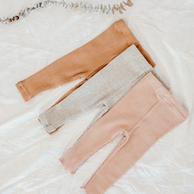 Load image into Gallery viewer, Dusk Pink | Ribbed Legging