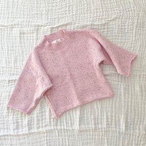 Light Pink Sprinkle | Knit Set