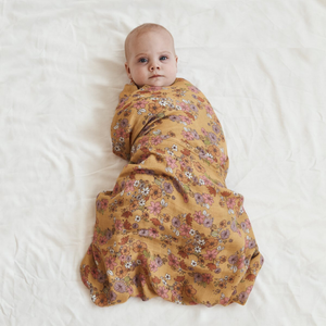 Love Child | Bamboo + Organic Cotton Swaddle