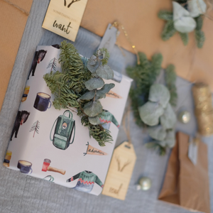 Stag Head | Need, Want, Wear + Read Gift Tags