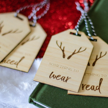 Load image into Gallery viewer, Stag Head | Need, Want, Wear + Read Gift Tags