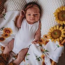 Load image into Gallery viewer, Sunflower | Organic Muslin Wrap