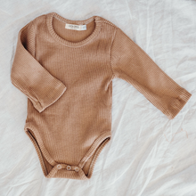 Load image into Gallery viewer, Tawny | Ribbed Bodysuit