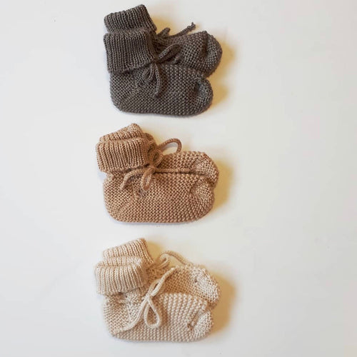 Various Colours | Merino Knit Booties