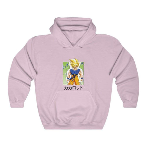 Pink Goku Solo Hoodie (Limited)