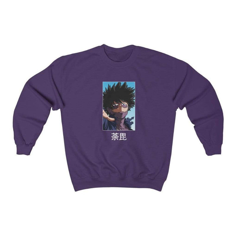 Purple Dabi Solo Crewneck