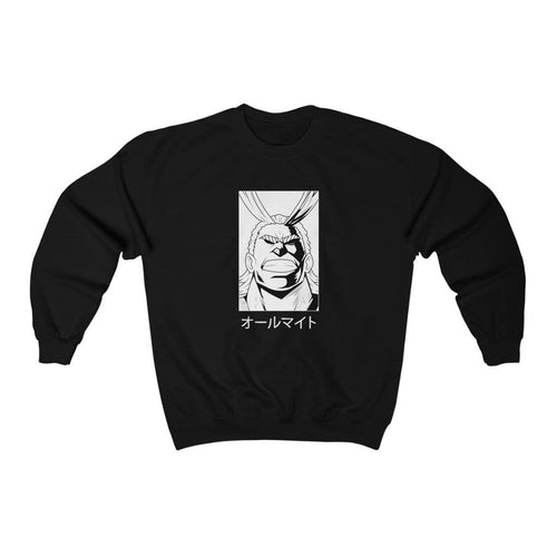 Reverse All Might Solo Crewneck