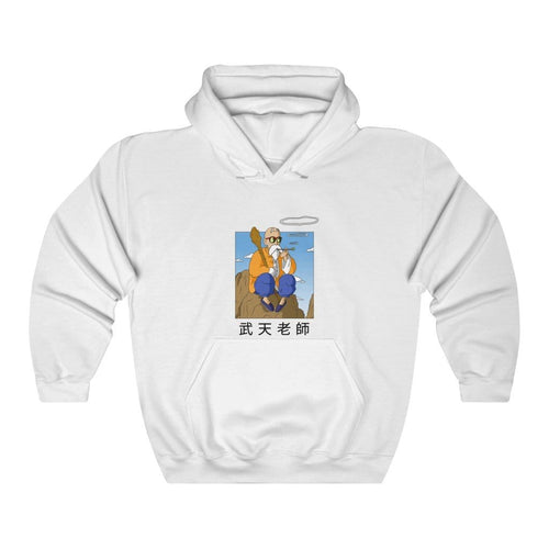 White Master Roshi Color Hoodie