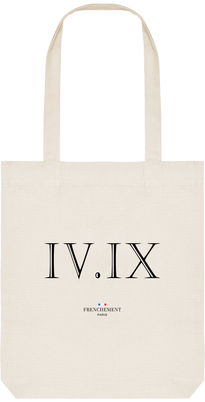 QUATRE SEPTEMBRE | TOTE BAG BIO - Frenchement