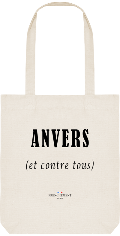 ANVERS ET CONTRE TOUS | TOTE BAG BIO - Frenchement