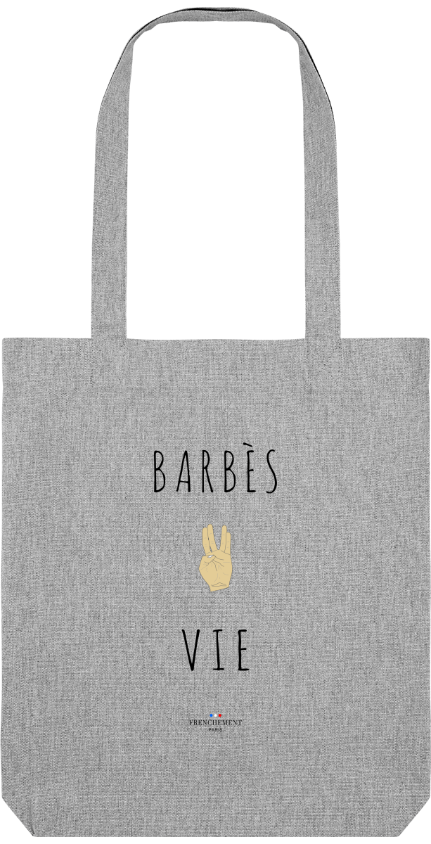 BARBÈS VIE | TOTE BAG BIO - Frenchement