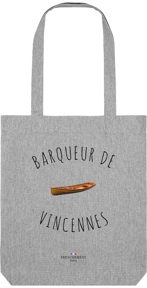 BARQUEUR DE VINCENNES | TOTE BAG BIO - Frenchement