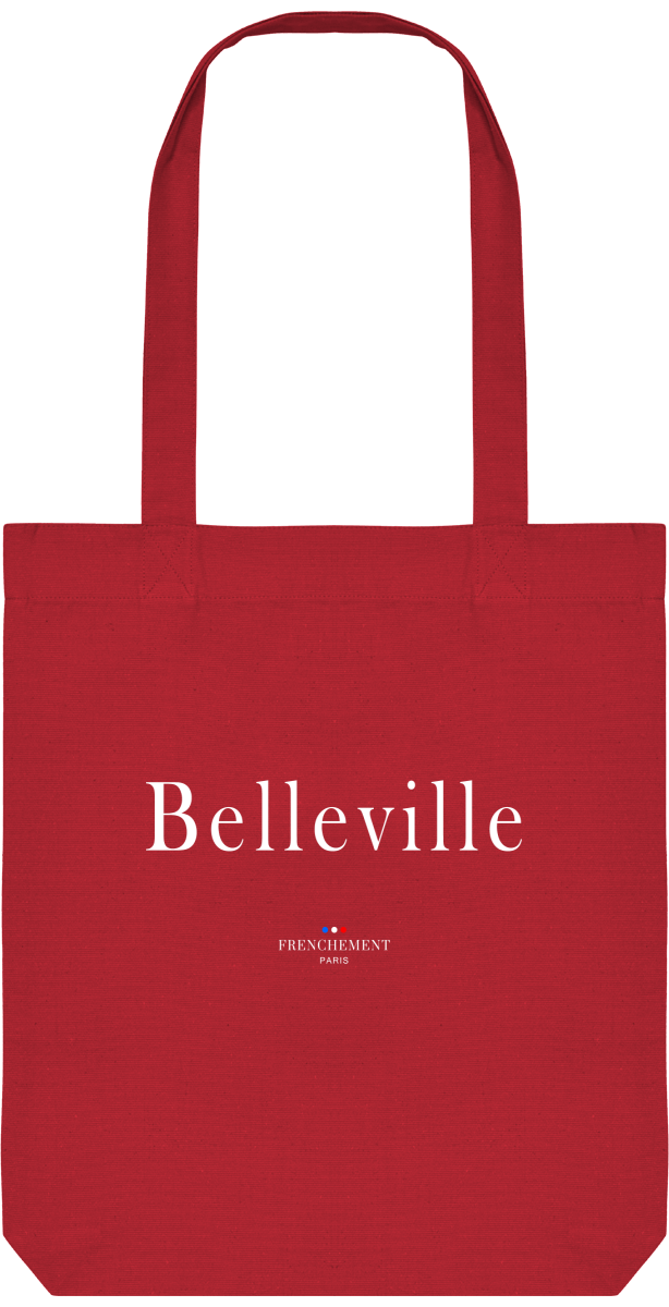 BELLEVILLE | TOTE BAG BIO - Frenchement