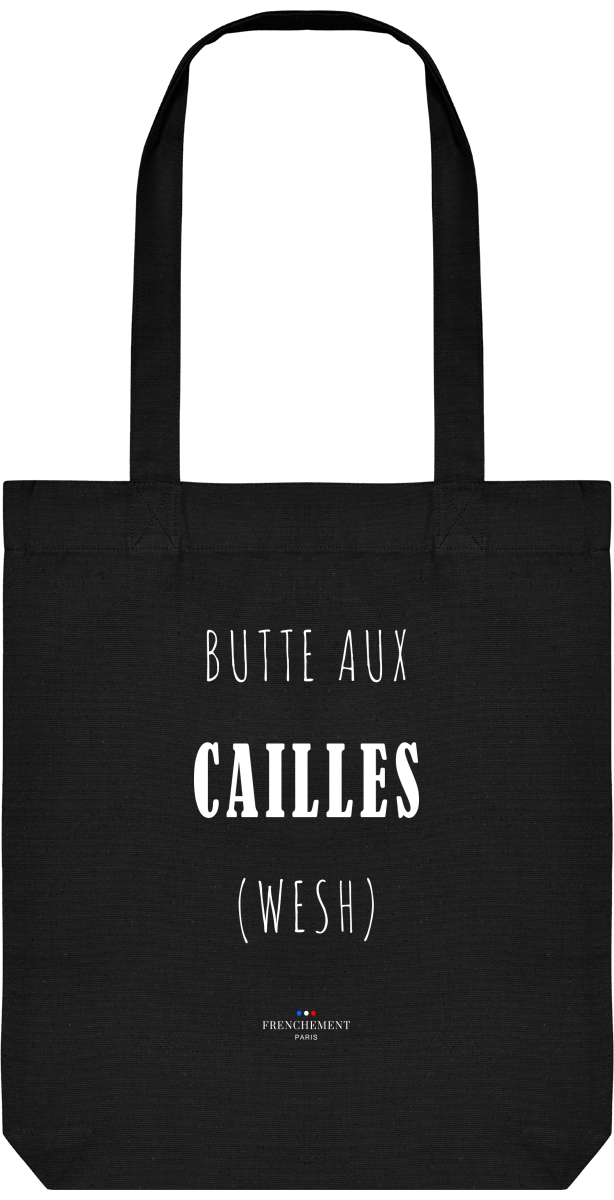 BUTTE-AUX-CAILLES | TOTE BAG BIO - Frenchement