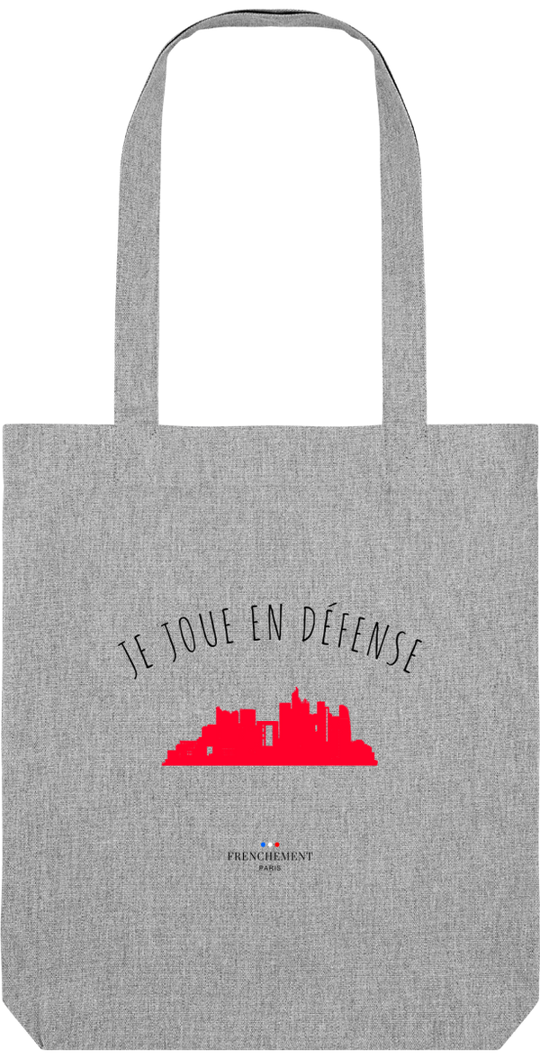 JE JOUE EN DÉFENSE | TOTE BAG BIO - Frenchement