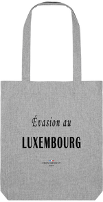 ÉVASION AU LUXEMBOURG | TOTE BAG BIO - Frenchement