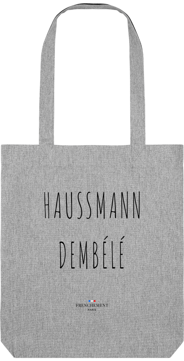 HAUSSMANN DEMBÉLÉ | TOTE BAG BIO - Frenchement