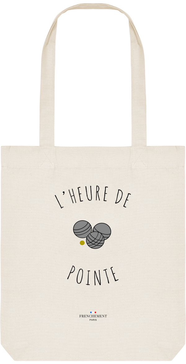 L'HEURE DE POINTE | TOTE BAG BIO - Frenchement