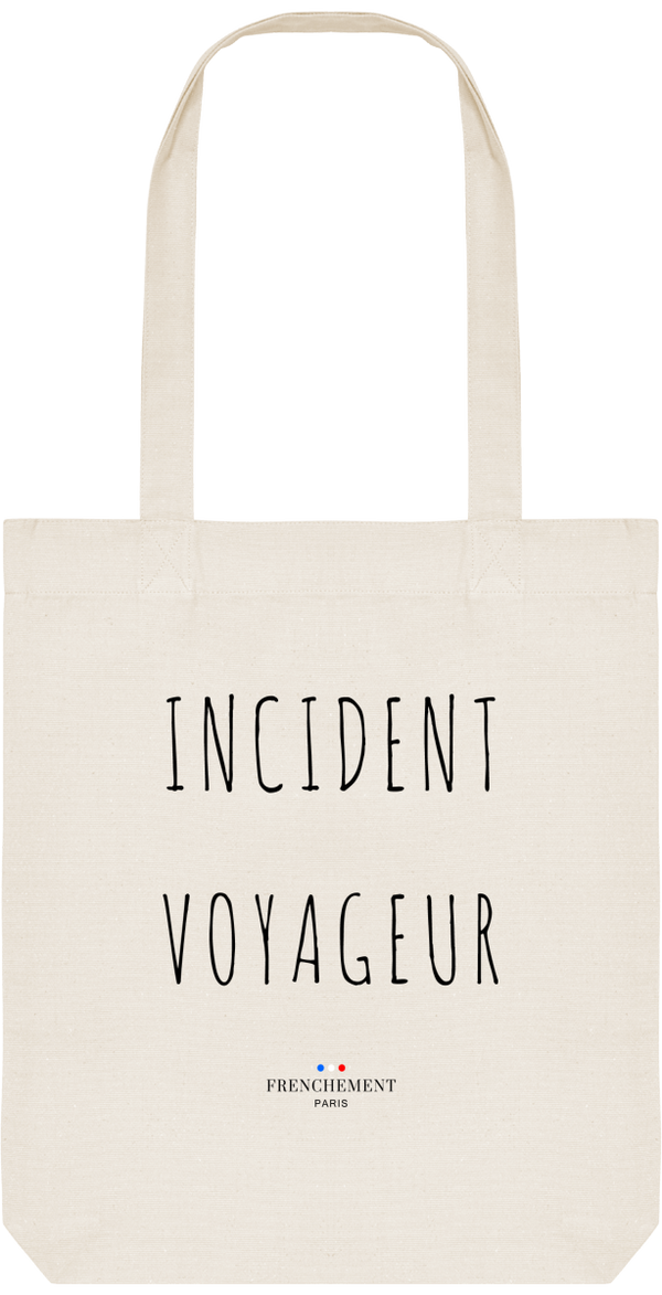 INCIDENT VOYAGEUR | TOTE BAG BIO - Frenchement