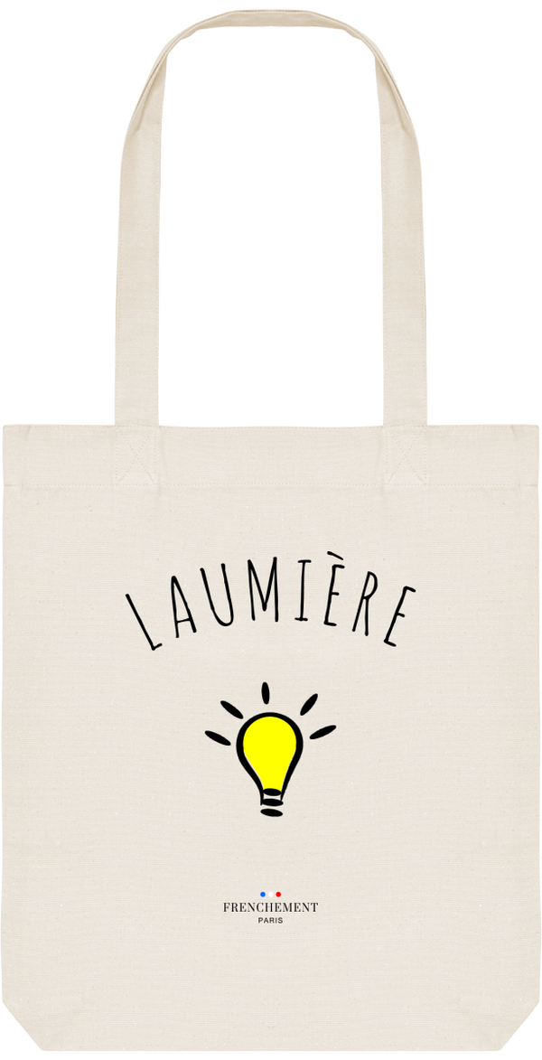 LAUMIÈRE | TOTE BAG BIO - Frenchement