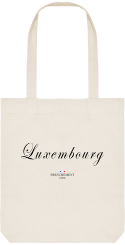 LUXEMBOURG | TOTE BAG BIO - Frenchement