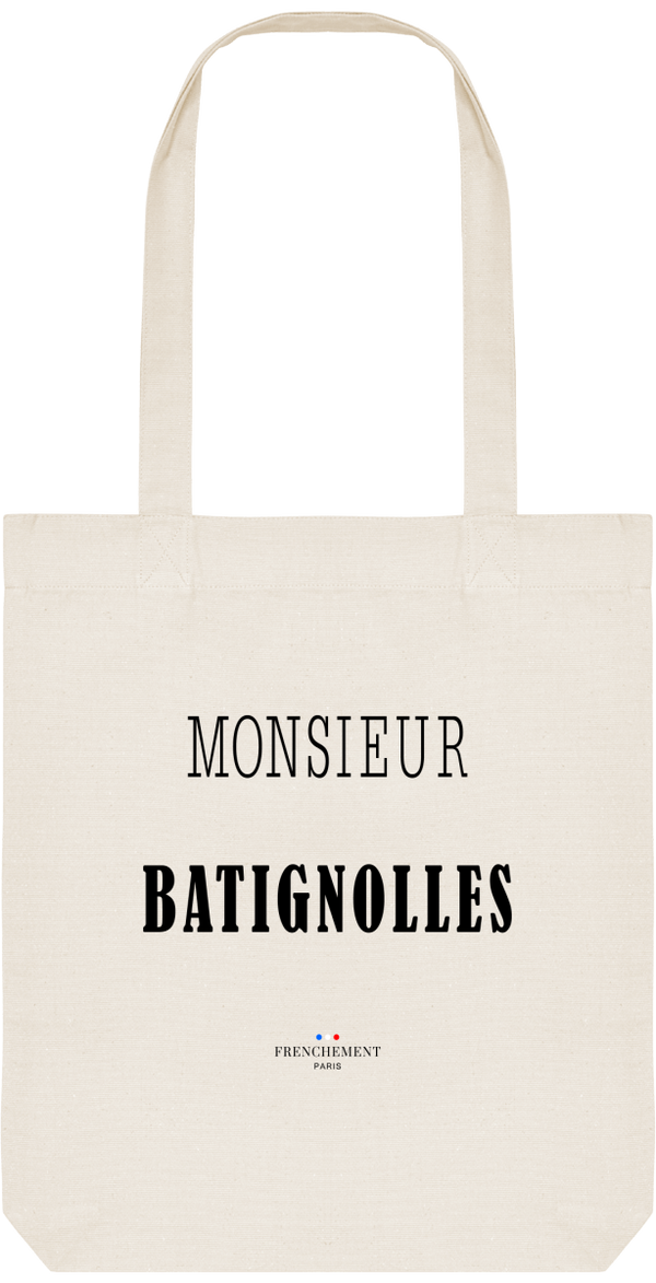 MONSIEUR BATIGNOLLES | TOTE BAG BIO - Frenchement