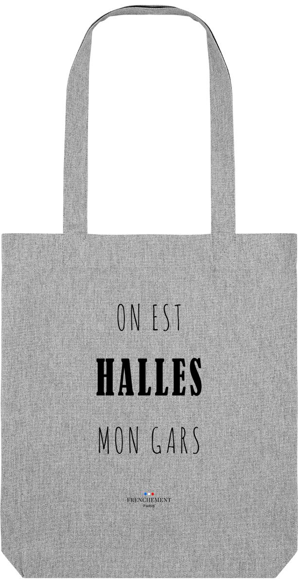 ON EST HALLES | TOTE BAG BIO - Frenchement