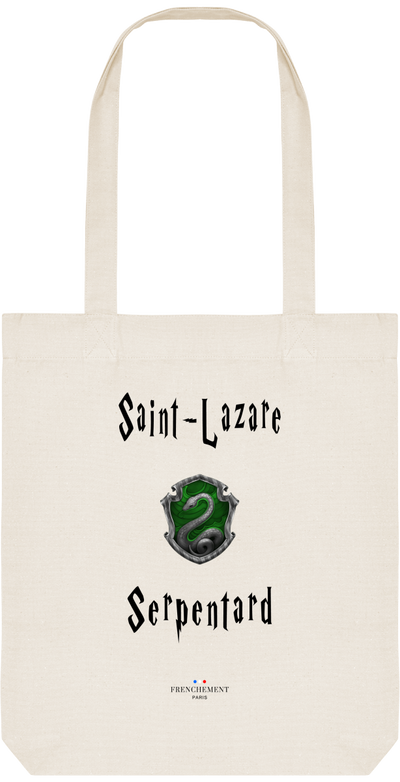 SAINT-LAZARE SERPENTARD | TOTE BAG BIO - Frenchement