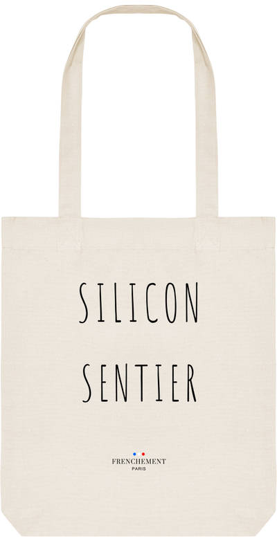 SILICON SENTIER | TOTE BAG BIO - Frenchement