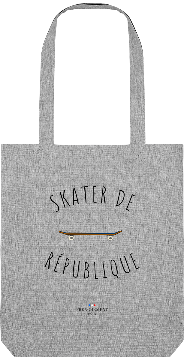 SKATER DE RÉPUBLIQUE | TOTE BAG BIO - Frenchement