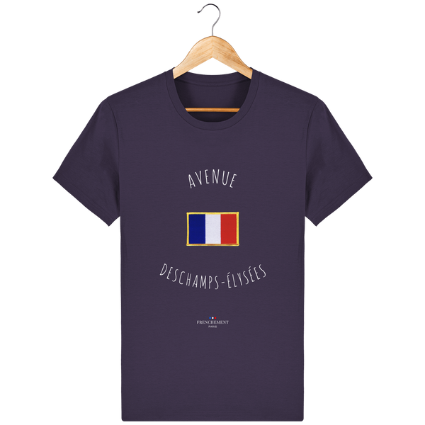 AVENUE DESCHAMPS-ÉLYSÉES | T-SHIRT HOMME BIO - Frenchement