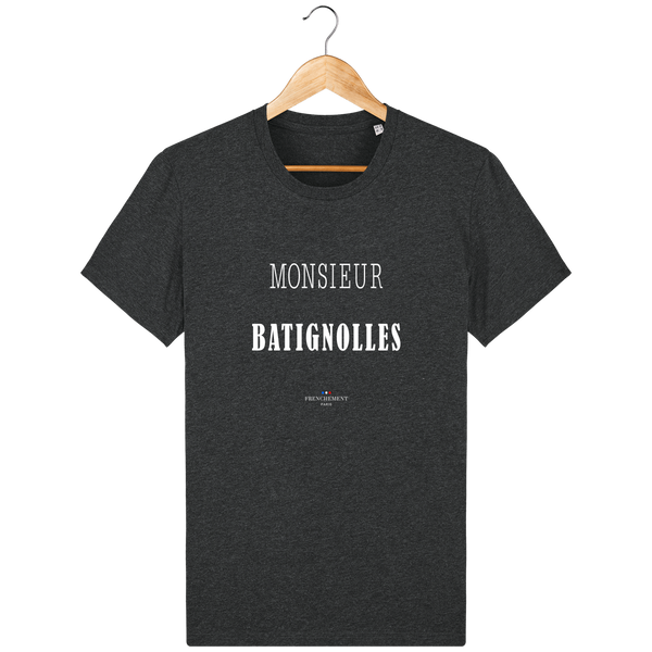 MONSIEUR BATIGNOLLES | T-SHIRT HOMME BIO - Frenchement