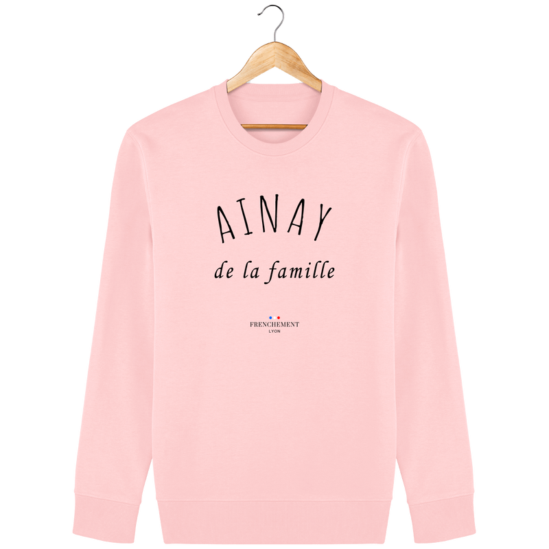 AINAY DE LA FAMILLE | SWEAT UNISEXE BIO - Frenchement
