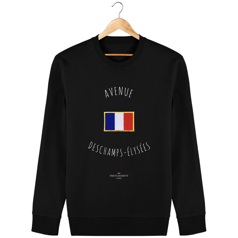 AVENUE DESCHAMPS-ÉLYSÉES | SWEAT UNISEXE BIO - Frenchement
