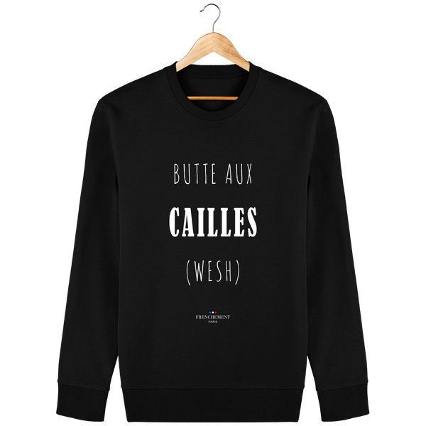 BUTTE-AUX-CAILLES | SWEAT UNISEXE BIO - Frenchement