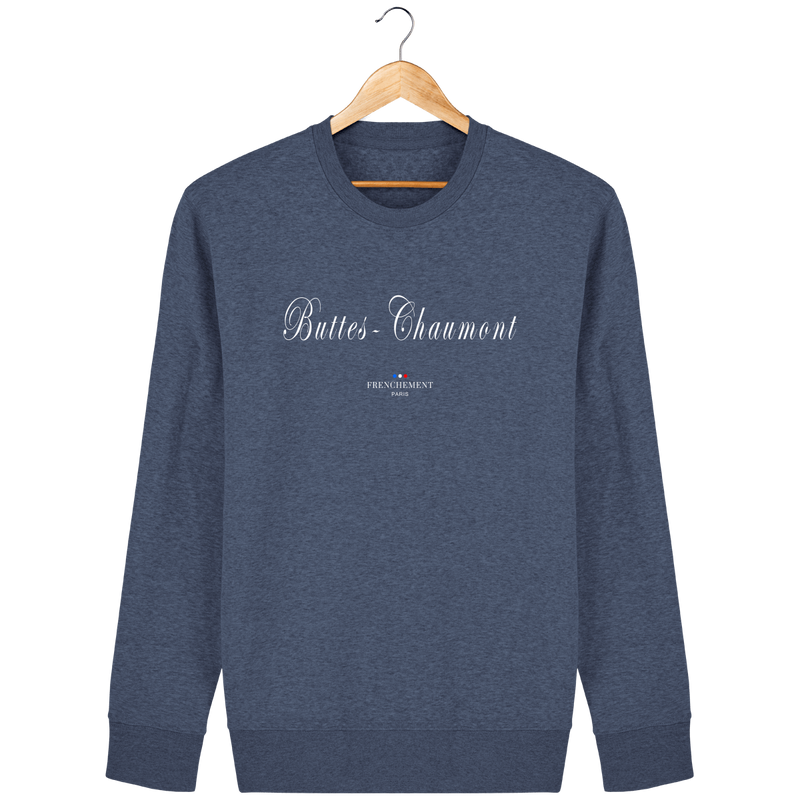 BUTTES-CHAUMONT | SWEAT UNISEXE BIO - Frenchement