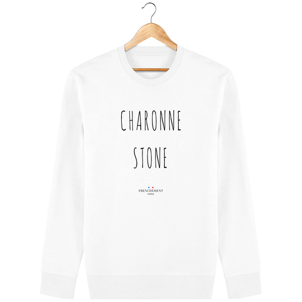 CHARONNE STONE | SWEAT UNISEXE BIO - Frenchement