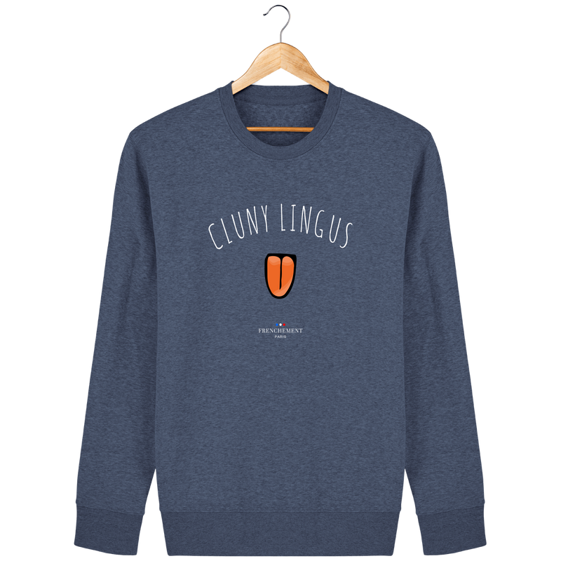 CLUNY LINGUS | SWEAT UNISEXE BIO - Frenchement