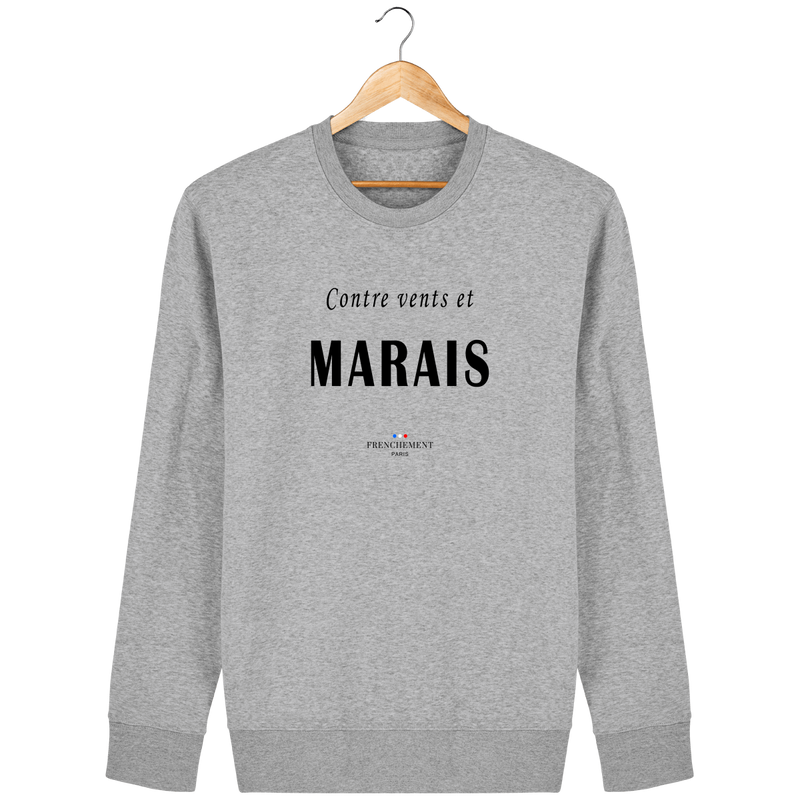 CONTRE VENTS ET MARAIS | SWEAT UNISEXE BIO - Frenchement