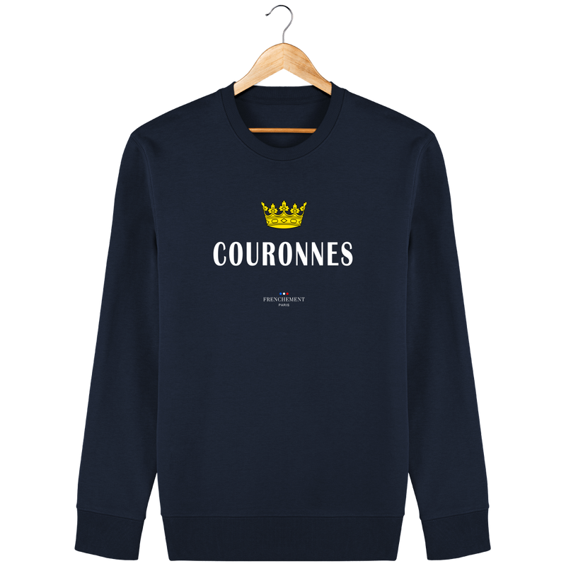 COURONNES | SWEAT UNISEXE BIO - Frenchement