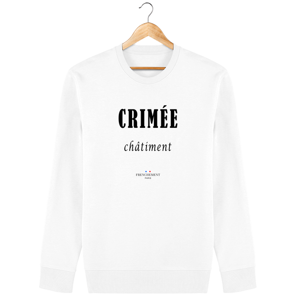 CRIMÉE CHÂTIMENT | SWEAT UNISEXE BIO - Frenchement