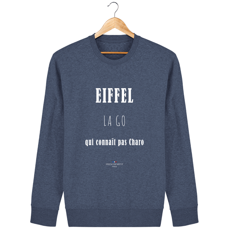 EIFFEL LA GO | SWEAT UNISEXE BIO - Frenchement