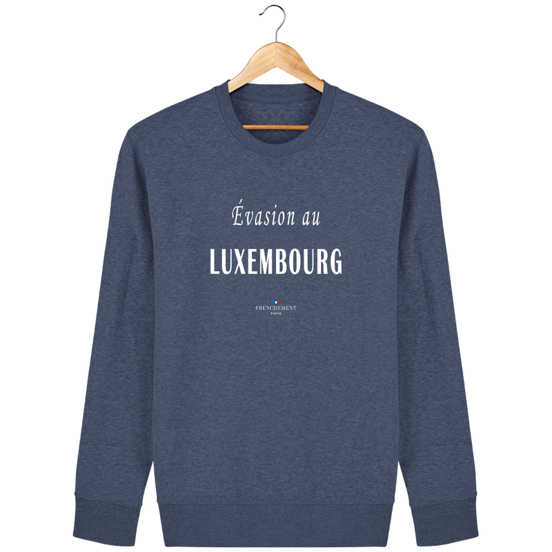 ÉVASION AU LUXEMBOURG | SWEAT UNISEXE BIO - Frenchement