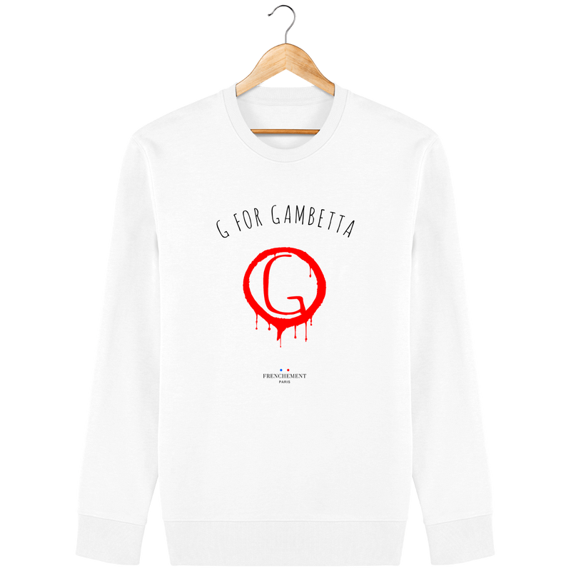 G FOR GAMBETTA | SWEAT UNISEXE BIO - Frenchement
