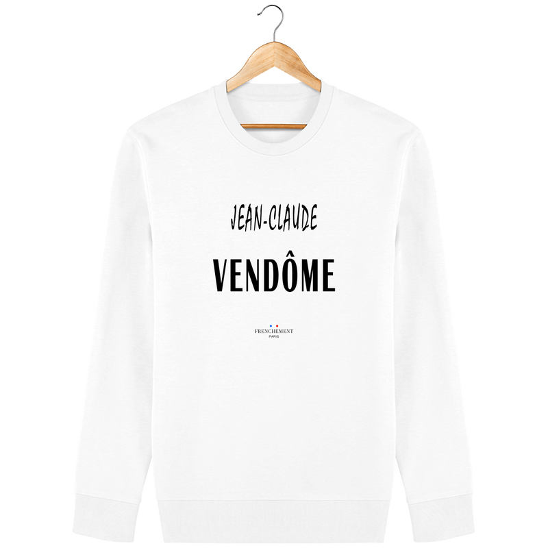 JEAN-CLAUDE VENDÔME | SWEAT UNISEXE BIO - Frenchement