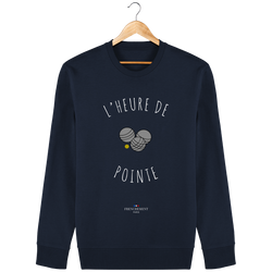 L'HEURE DE POINTE | SWEAT UNISEXE BIO - Frenchement