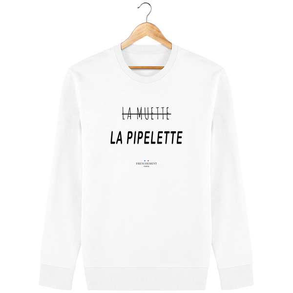 LA MUETTE | SWEAT UNISEXE BIO - Frenchement